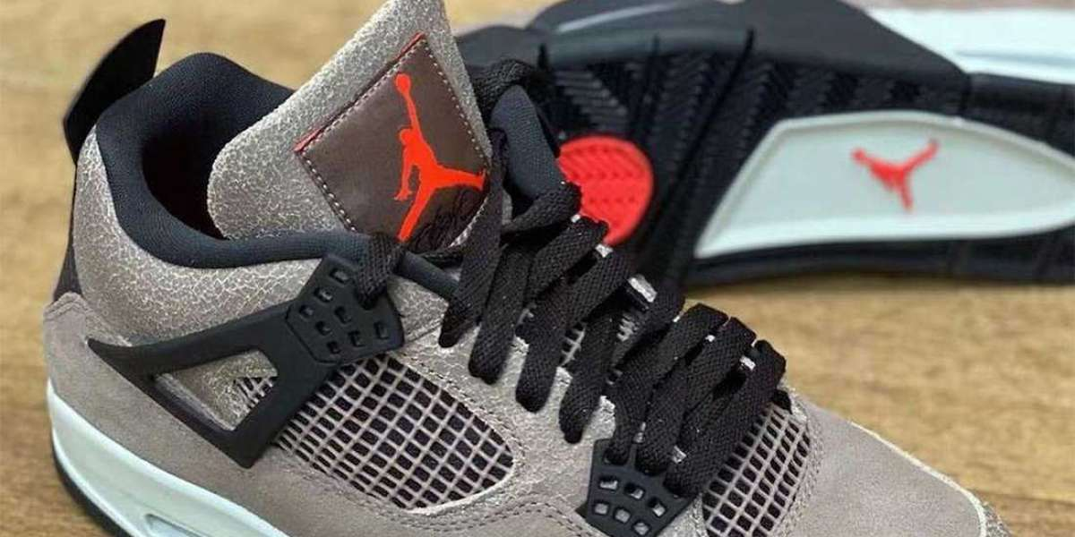 """Air Jordan 4 """"Taupe Haze"""" Taupe Haze/Oil Grey-Off White-Infrared 23 DB0732-200 2021 For Sale"""