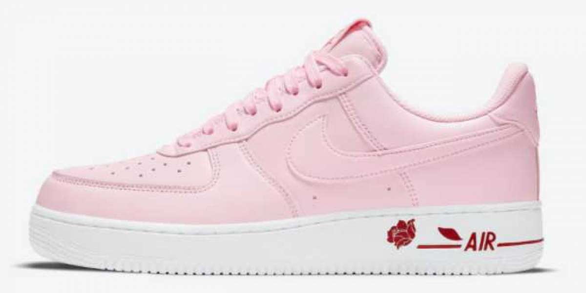 """Nike Wmns Air Force 1 Low """"Pink Rose"""" 2021 New Arrival CU6312-600"""